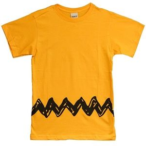 Charlie Brown Peanuts Zig Zag Child T-Shirt